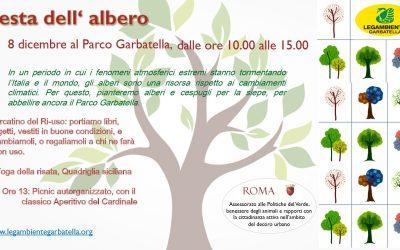 Rinviata all'8 dicembre la Festa dell'Albero 2019