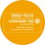 "Label ""OEKO-TEX"" Standard 100"