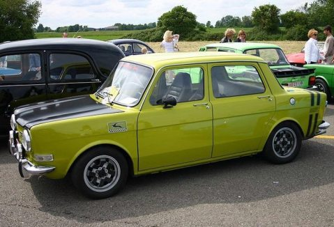 1972: Simca 1000 Ralley 2