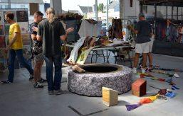1er au 14 septembre 2016   Annette Blin   Design textile   Artiste en résidence au Garage
