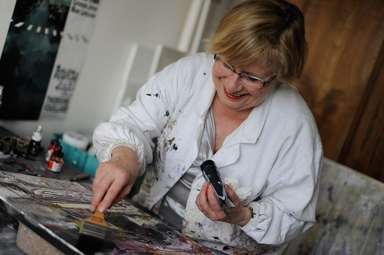 Mireille Stricker-Puaud - Peinture abstraite