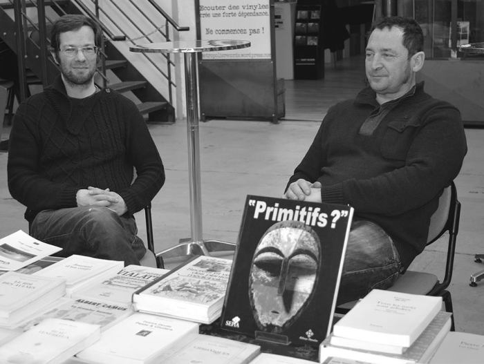 Ludovic Riou et Philippe Raffin