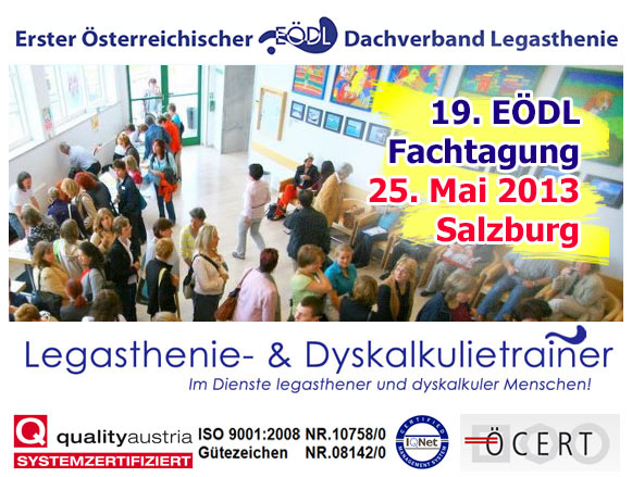 Fachtagung Legasthenie 2013