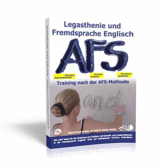Englisch, Legasthenie, AFS-Methode, AFS-Training, Hilfe, Eltern, Kinder, Lehrer, Schule, Fremdsprache