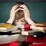 Absprache, Eltern, Lehrer, Kinder, Schule, Legasthenie, Hausaufgabe, Dyskalkulie