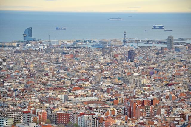 Miradores Barcelona 06 - Vistas bunkers del carmel