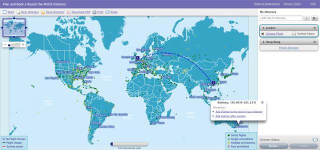 planificador RTW One World