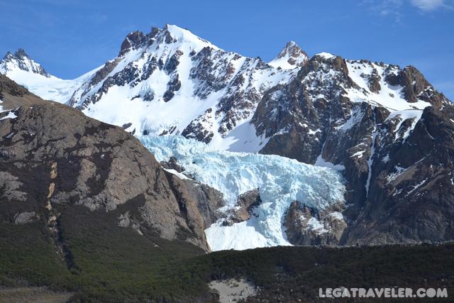 glaciar colgante el chalten