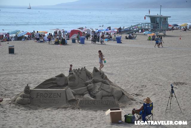 playa santa mónica