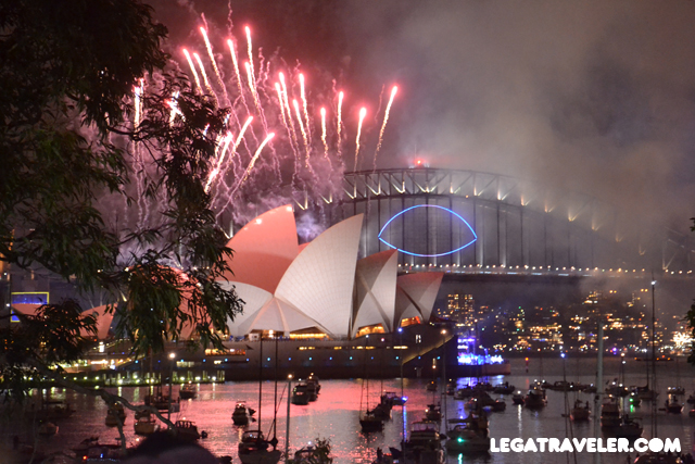 sydney fireworks new year