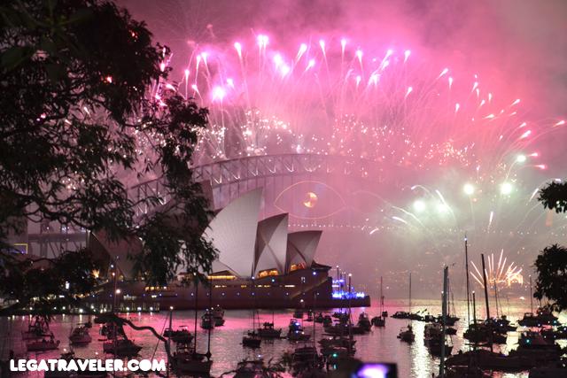 fuegos artificiales sydney nochevieja