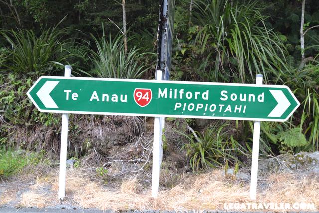 carretera milford sound