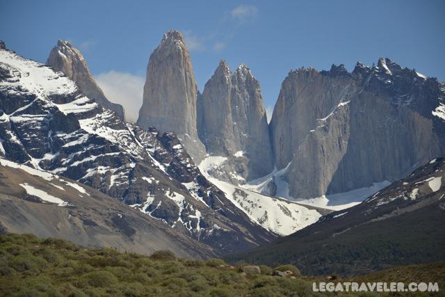 parque nacional torres del paine picos