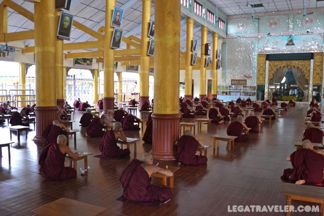 Monasterio Kha Khat Wain Kyaung