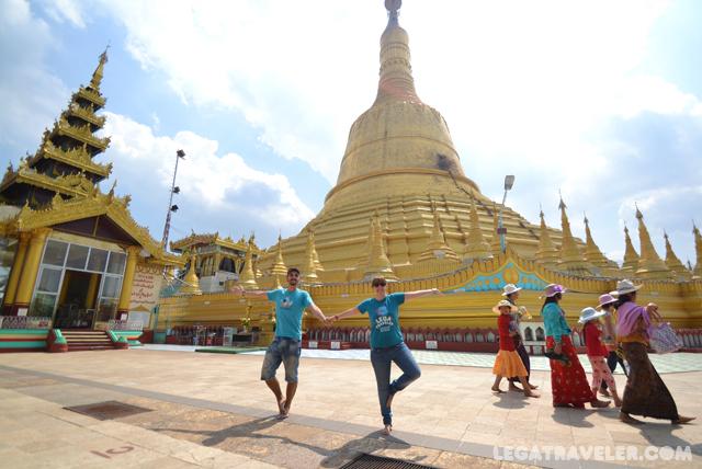 Pagoda Shwemawdaw Myanmar