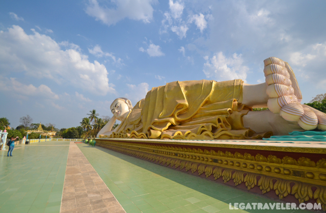 Shwethalyaung Buddha Myanmar