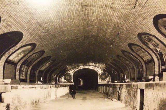 La estación fantasma de Chamberí en el Metro de Madrid