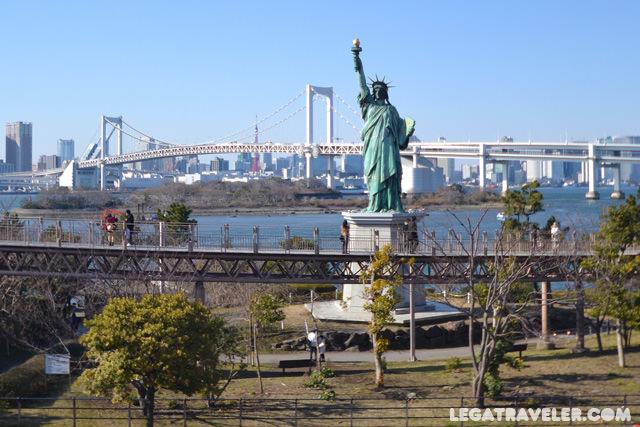 odaiba-vistas-tokio-estatua-libertad