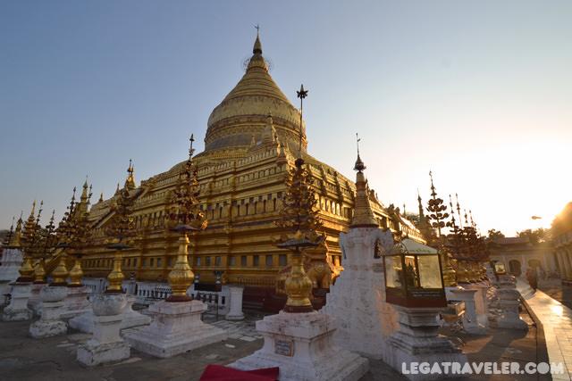 shwezigon pagoda baga myanmar