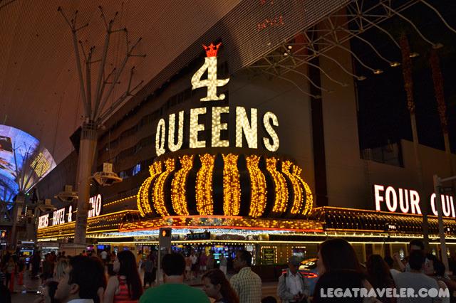 hoteles baratos en las vegas four queens