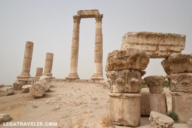 Que ver en Jordania Ciudadela Amman