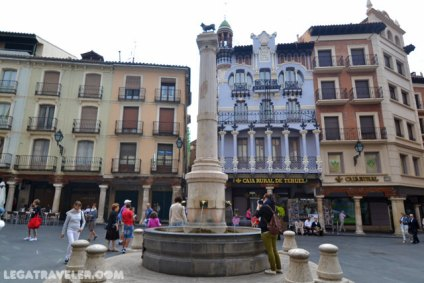 Plaza Torico Teruel