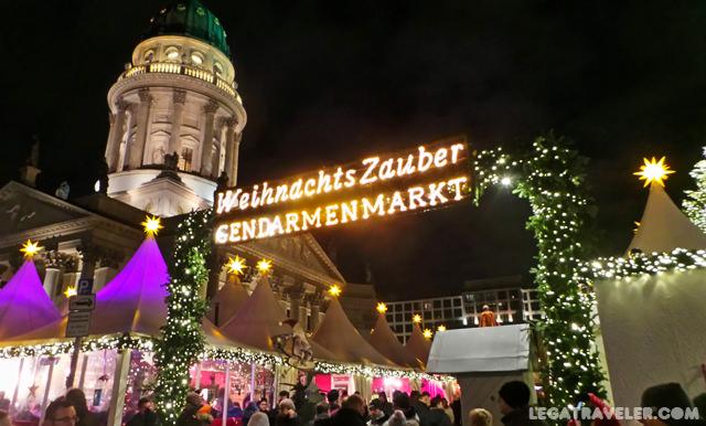 Mercadillos Navidad Berlin Gendarmenmarkt