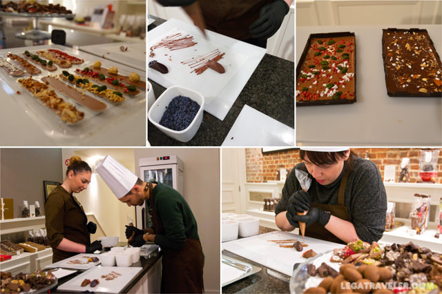 taller workshop chocolate bruselas neuhaus