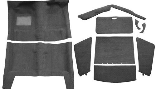67 69 Cuda Fastback Auto Loop Carpet Kit Burnt Orange | Burnt Orange Stair Carpet | 4500 10538 | Non Slip | Orange Area Rug | Overstock | Self Adhesive