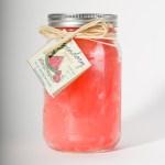 32 Ounce Watermelon Scented Mason Jar Candle