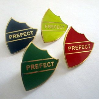 Hogwarts Prefect Pins for every house