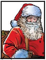 See all the Santa Claus items from LegendaryLetters.com here