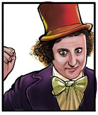 See all the Willy Wonka items from LegendaryLetters.com here