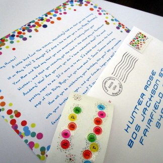 Personalized birthday letter from any character and any fandom
