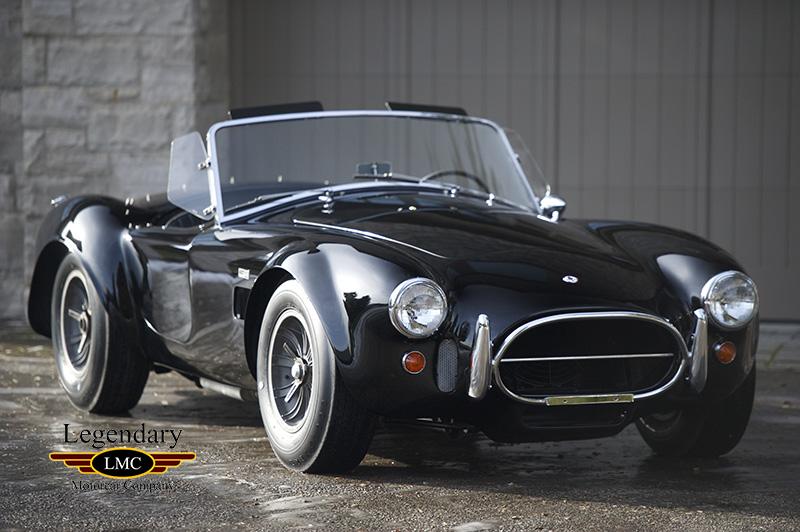 1966 Shelby 427 Cobra 1 Of 15 Factory Black 427 Cobras