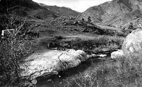 Manitou Spring in 1870,