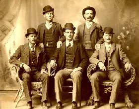 Butch Cassidy e Sundance Kid in una foto depoca