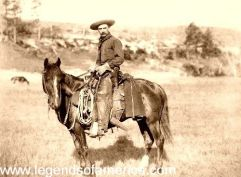 The Cowboy, 1888, photo by John C.H. Graybill