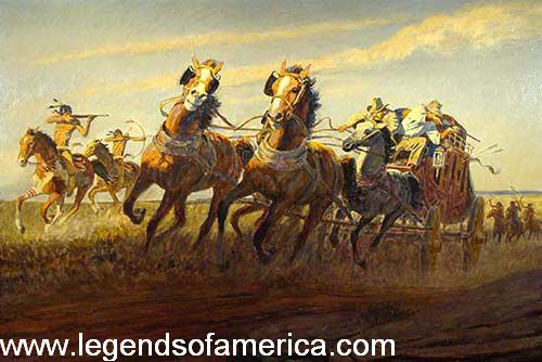 Indian Terrors On The Santa Fe Trail