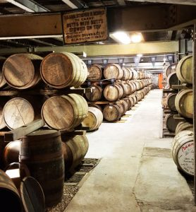 How is whisky made - Casks maturing at Laphroaig - Malcolm Levon