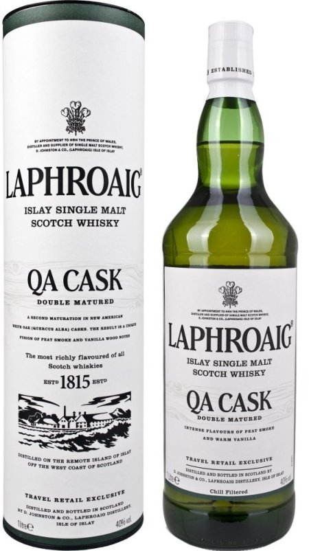 Laphroaig QA Cask 1l Single Malt Whisky