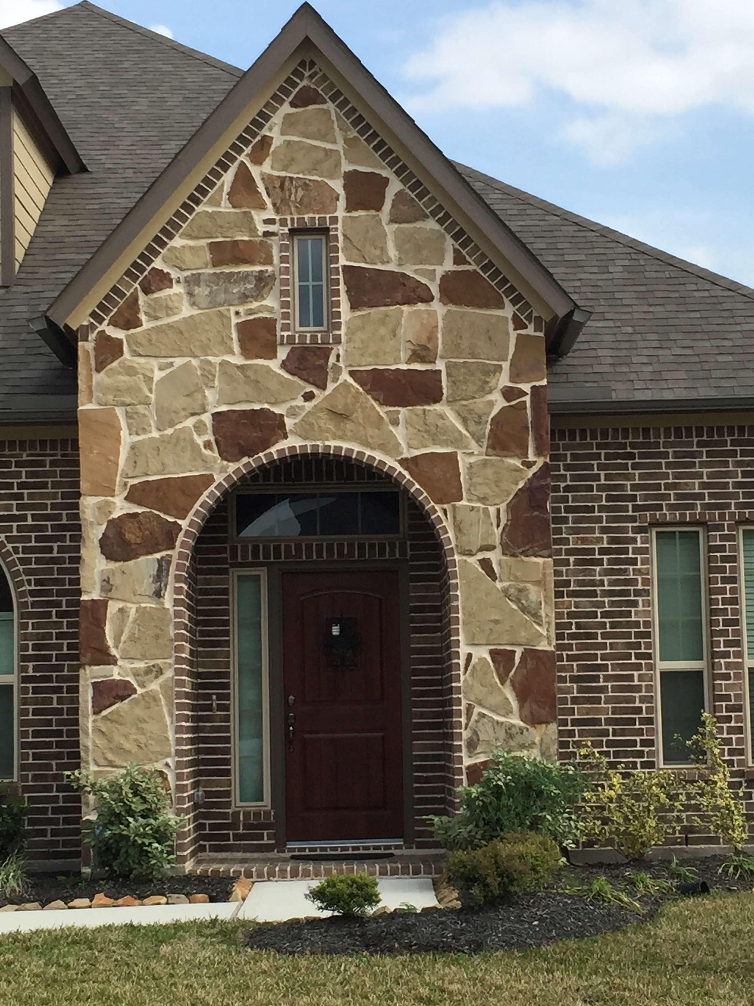 Autumn Blend Fieldstone Legends Stone Natural Stone Building Stone Thin Veneer Houston