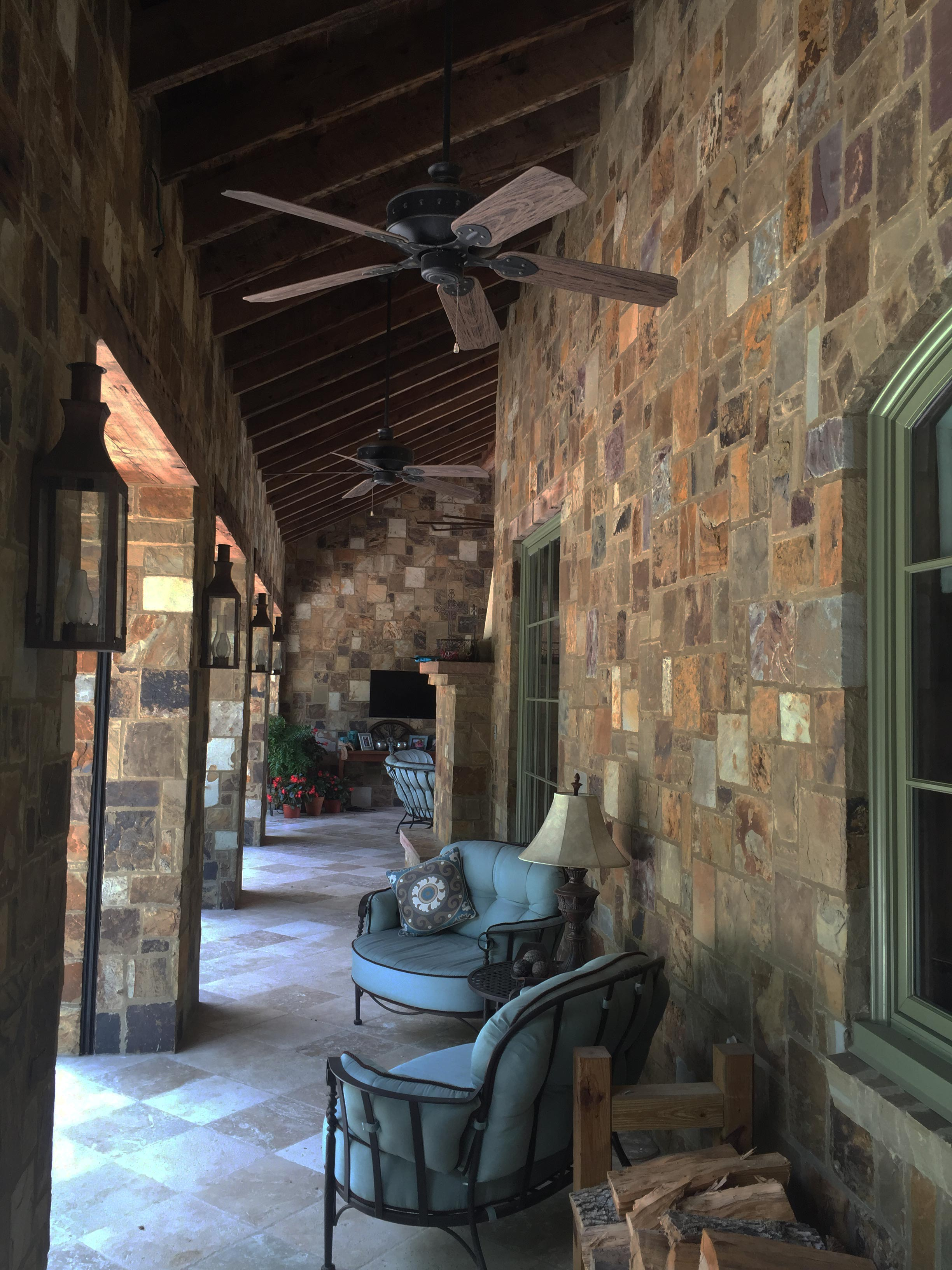 Brazos Blend Legends Stone Natural Stone Building Stone Thin Veneer Houston Tx