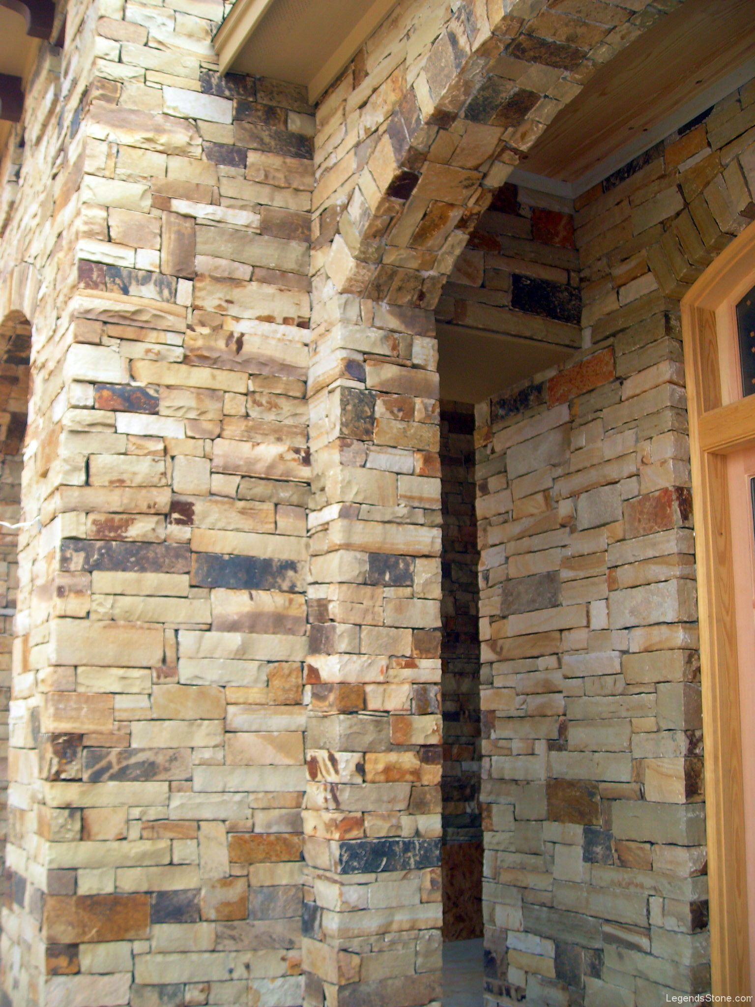 Oklahoma Multi Color Chop Legends Stone Natural Stone
