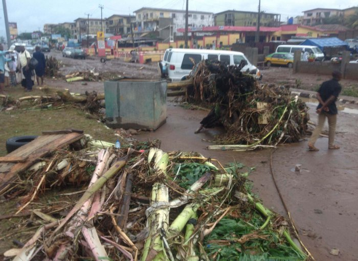 Rainstorm Kills One, Renders Over 400 Homeless In Ondo State