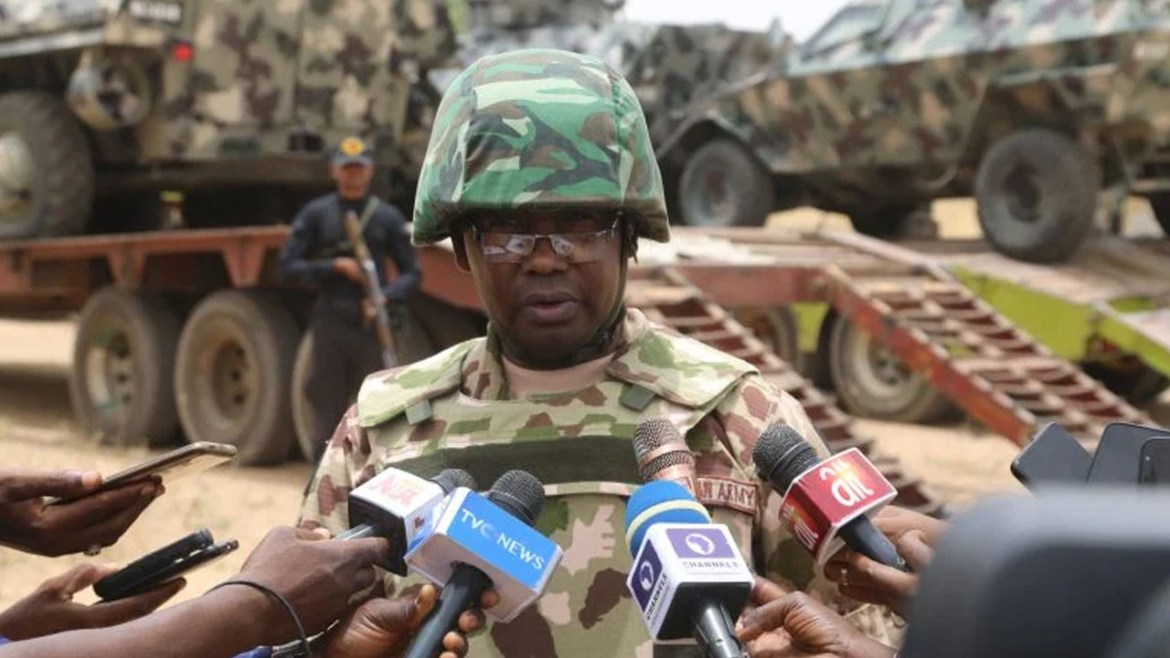 The denies of Army occupation of Nigerian territory by Chadian security personnel