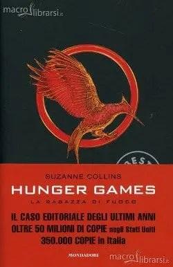 Recensione di Hunger Games – La ragazza di fuoco di Suzanne Collins (Libro Secondo)