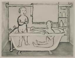 Children in Tub 1994 by Louise Bourgeois 1911-2010