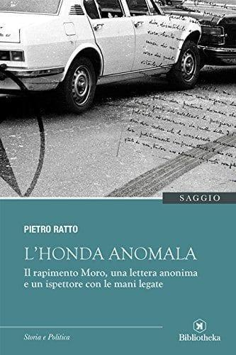 """coverHonda In libreria il libro-inchiesta """"L'Honda anomala"""" di Pietro Ratto News Libri"""