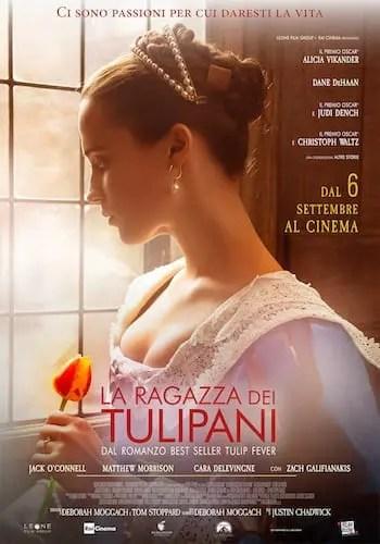 """LaRagazzaDeiTulipani_locandina35x50_data_bassa Al cinema """"La ragazza dei tulipani"""" ispirato al libro di Deborah Moggach Film tratti da libri"""